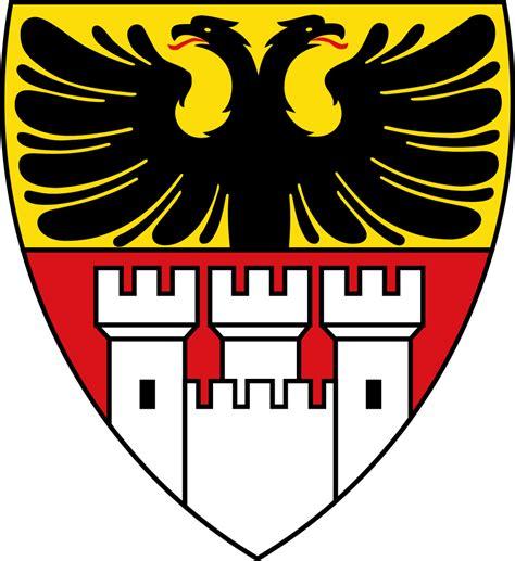Der Stadt by Datei Stadtwappen Der Stadt Duisburg Svg