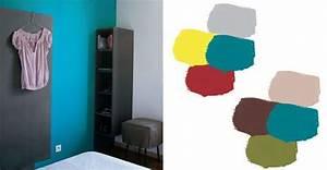couleur bleu petrole peinture maison design bahbecom With bleu canard avec quelle couleur