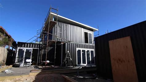 2 story floor plans for container house two story container home install