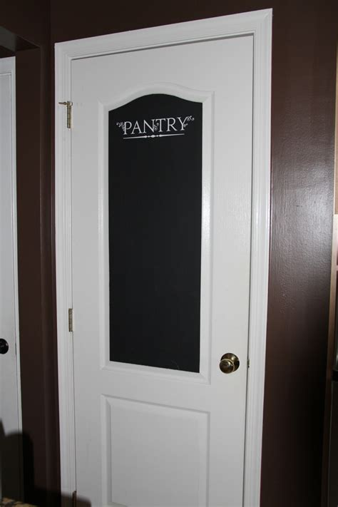 4 Door Kitchen Pantry White We 4 White Doors In One Entryway So I Added