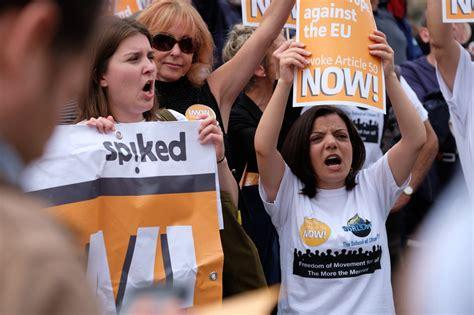 BLACKOUT: Media Ignores Pro-Brexit Demo, HUNDREDS Of ...