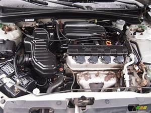 2002 Honda Civic Lx Coupe 1 7 Liter Sohc 16