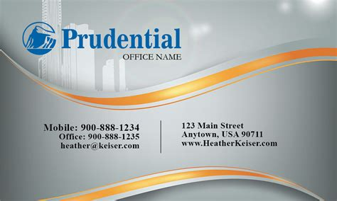 Prudential Real Estate Broker Business Card Samples Of Business Cards Best Rated Online 600gsm Uk Order Australia Qualifications Next Day Delivery Generator Printable