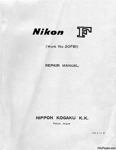 Nikon F Service Manual Service Manual Download  Schematics
