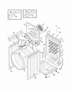 Electrolux Gas Dryer Parts