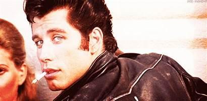 Danny Travolta Grease John Zuko Smile Sly