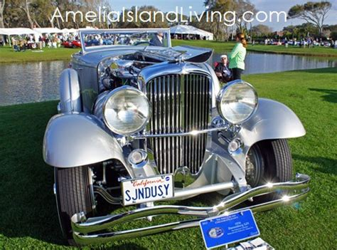 amelia islands grand event showcases mans love  cars
