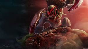 Strygwyr the Bloodseeker – Dota 2 wallpaper