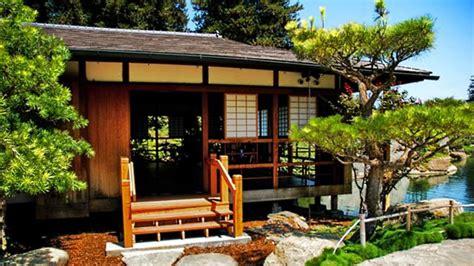 traditional japanese house garden japan interior