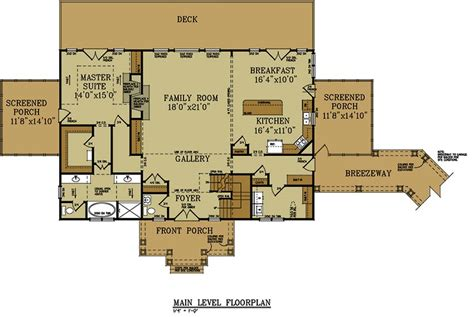 story bedroom house plan detatched garage