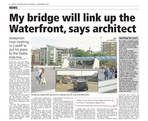 Jep News Article St Helier Waterfront Masterplan's Park
