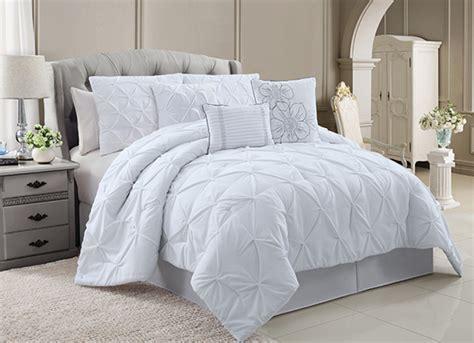 chic luxury comforter sets - Luxury White Comforter Sets