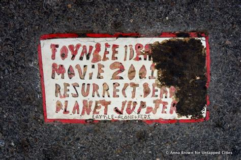 Toynbee Tiles Documentary by Unsolved Mystery Toynbee Tile Found Outside
