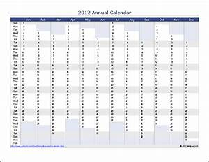 project management calendar template With annual planning calendar template