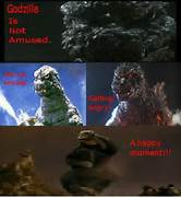 Godzilla meme maybe by...