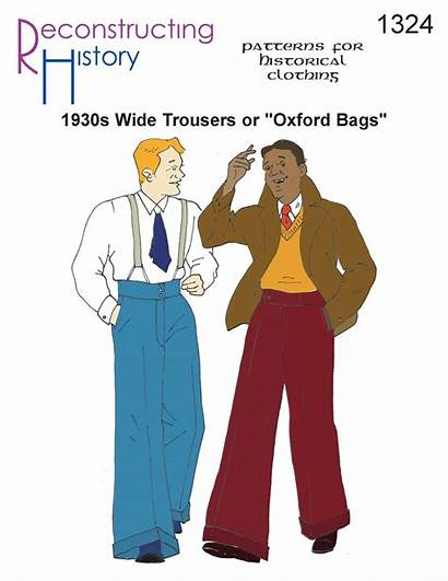 Oxford Bags Trousers 1930s Sewing Patterns Pants