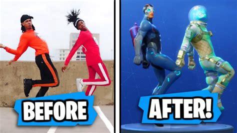 New Fortnite Season 4 Dances In Real Life!! (hype, Meme