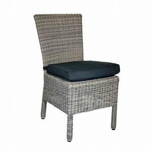 Chaise En Résine Tressée : chaise en r sine tress e ronde gris chin oshawa gris achat vente fauteuil jardin chaise en ~ Dallasstarsshop.com Idées de Décoration