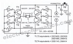 electronic dog whistle circuit With hobby circuit board