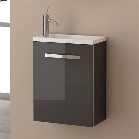 meuble salle de bain 40 cm 1 porte domino