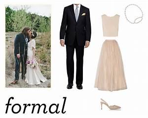 Wedding attire formal the nouveau romantics for Dress for formal wedding