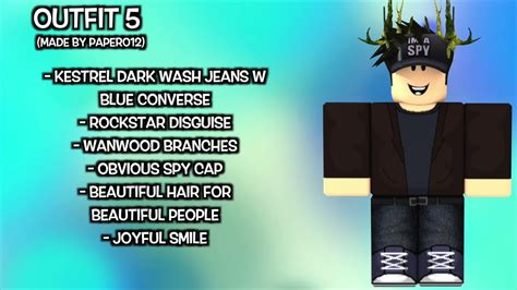awesome roblox outfits youtube