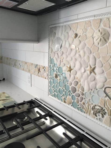 custom matching kitchen mosaic backsplash border