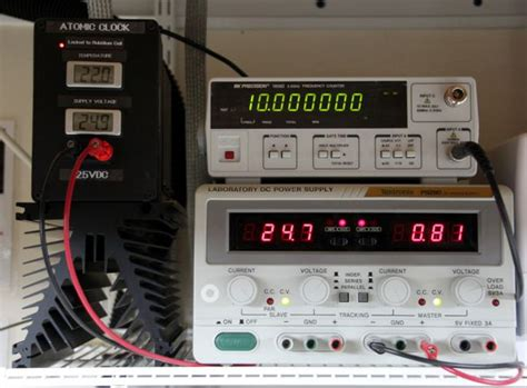 Mhz Atomic Clock Frequency Standard Using