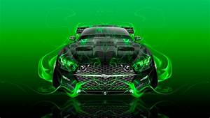 Ford Mustang Muscle FrontUp Super Fire Car 2015 Wallpapers