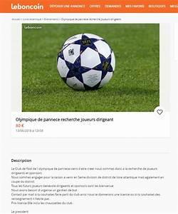 Bon Coin Pays De La Loire : football l olympique de pannec cherche joueurs et sponsors sur le bon coin ~ Gottalentnigeria.com Avis de Voitures