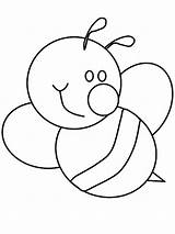 Coloring Bumblebee Smile Cute Print Pages Nimbus sketch template