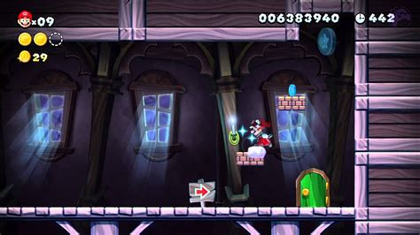 Frosted Glacier Swaying Ghost House New Super Mario