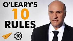 Kevin O'Leary's Top 10 Rules For Success | taalk