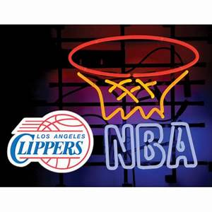 Los Angeles Clippers Neon Light Price pare