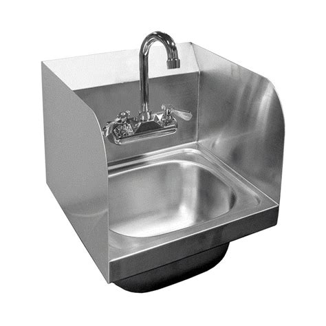 ace stainless steel sinks ace stainless steel wall mount hand sinks w splash guards