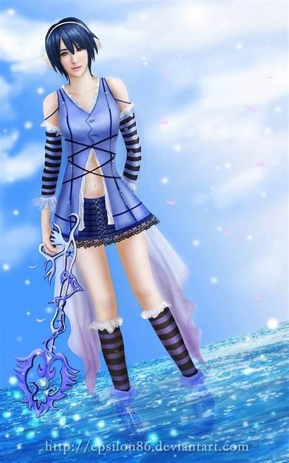 Aqua Hearts Kingdom Aquamarine Deviantart Birth Sleep