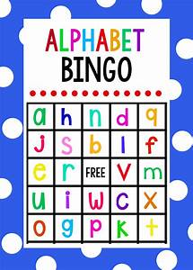 Lowercase alphabet bingo game alphabet bingo bingo for Letter games for toddlers