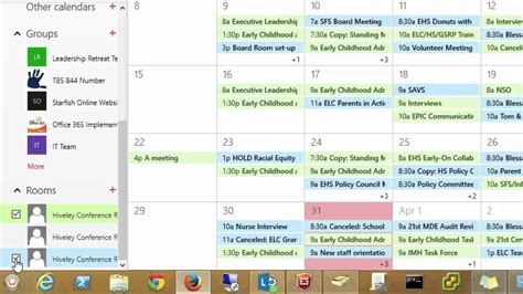 Scheduling Meeting Rooms in the Office 365 Portal - YouTube