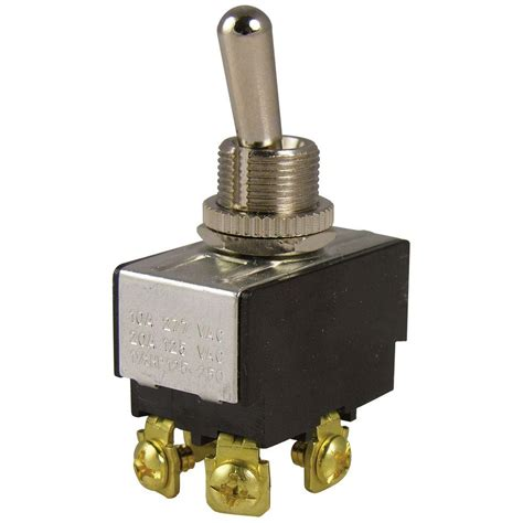 Gardner Bender Amp Double Pole Toggle Switch Pack