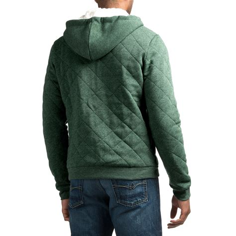 quilted hoodie mens quilted hoodie for save 73