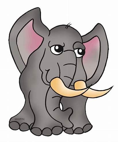 Elephant Clipart Animals Clip Elephants Martin Animal