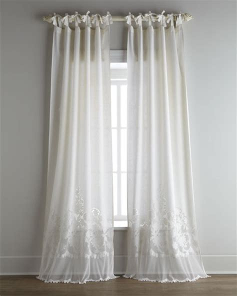 tie top curtains pom pom at home each caprice tie top curtain