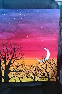 Image, Result, For, Easy, Acrylic, Painting, Ideas, For, Beginners, On, Canvas