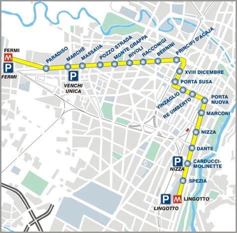 treno pavia nizza metropolitana torino mappa linea 2