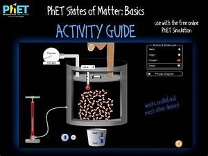 Phet States Of Matter  Basics Activity Guide