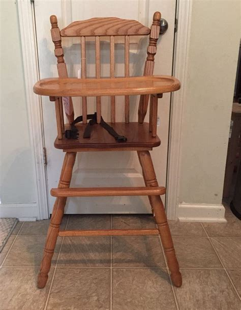 lind wooden high chair 25 best ideas about vintage high chairs on