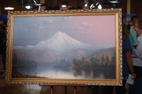 oil painting  mt hood ca antiques roadshow pbs