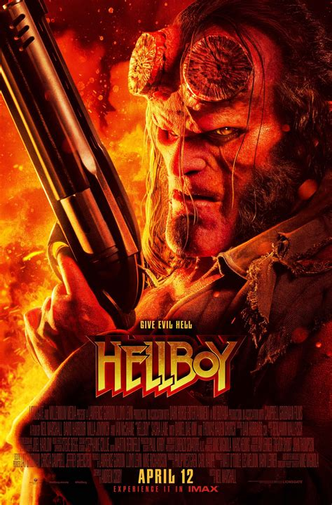 New Hellboy Posters Are Red All Over Collider