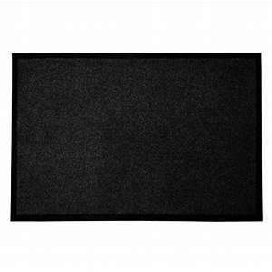 tapis d39entree casa purar mono noir qualite elevee With tapis d extérieur casa