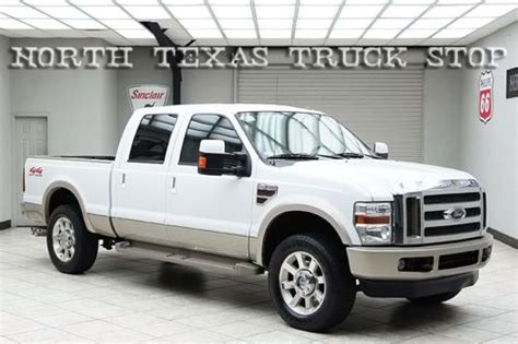 Purchase used 2009 Ford F250 Diesel 4x4 King Ranch Rear